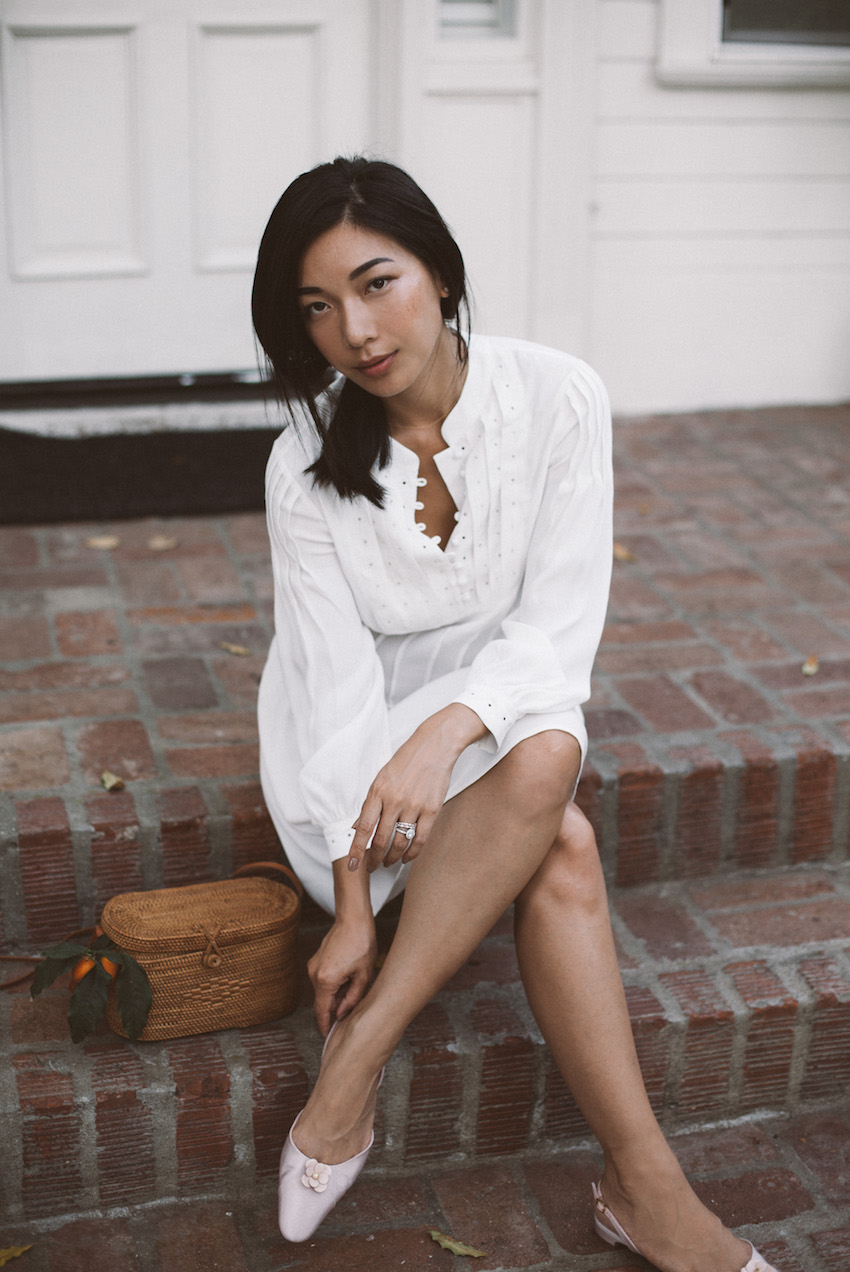 Summer's Little White Dress | HONEY & SILK