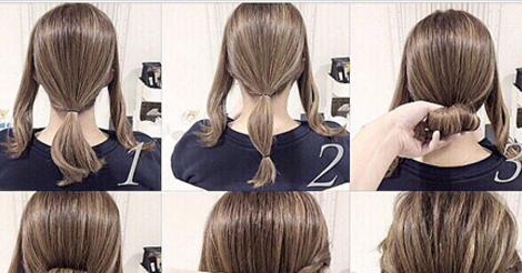 Phenomenal Cute Low Bun Entertainment News Photos Amp Videos Calgary Short Hairstyles For Black Women Fulllsitofus