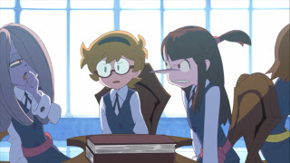 Little Witch Academia Akko Lotte Sucy Trigger Anime Mirai 2013