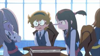 Little Witch Academia Akko Lotte Sucy Trigger Anime Mirai 2013