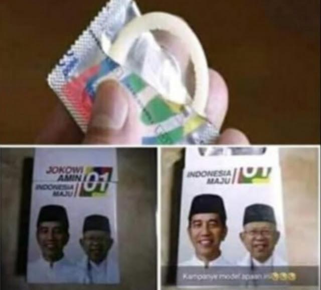 Kondom Bergambar Paslon 01, Gerindra: Artinya Program KB Jokowi Gagal Total