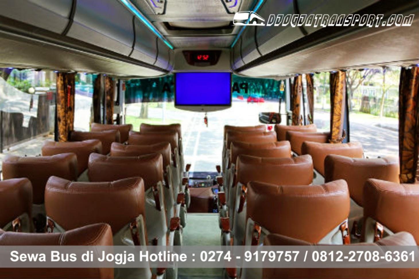 sewa bus besar ac di Jogja