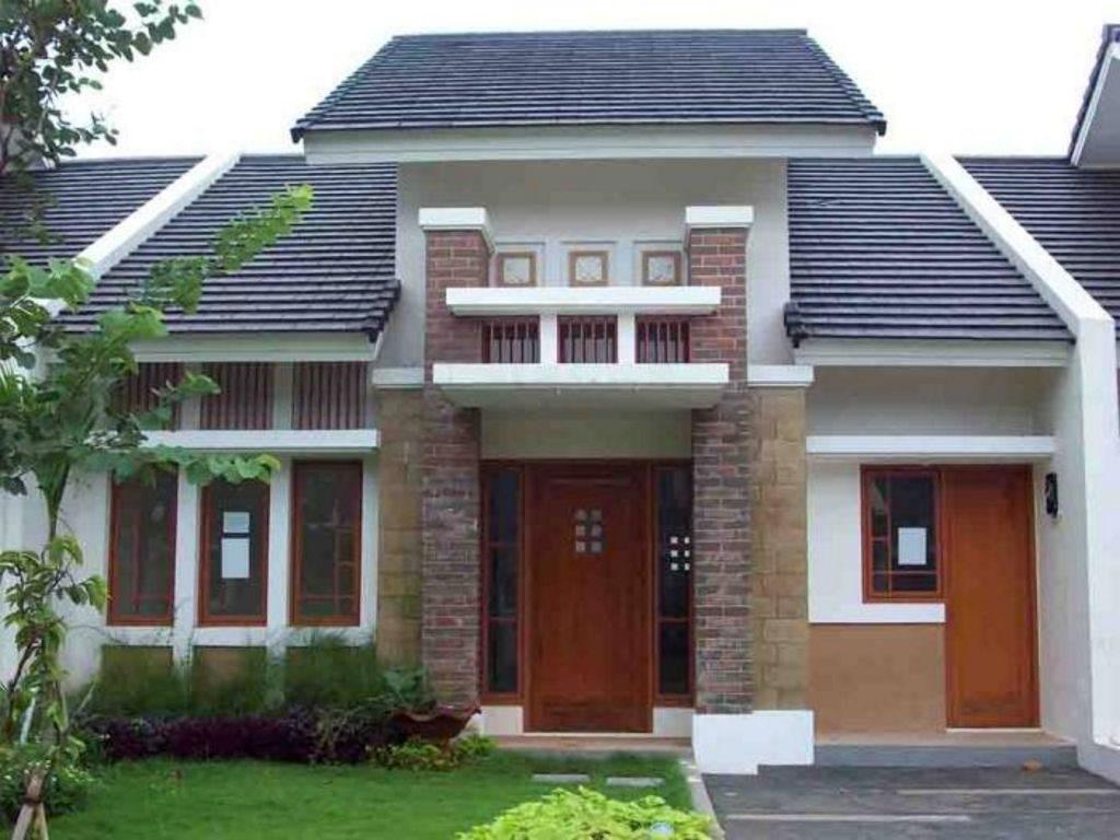 Model Rumah 1 Lantai Elegan Modern