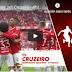 ASSISTA: os três gols da goleada sobre o Cruzeiro