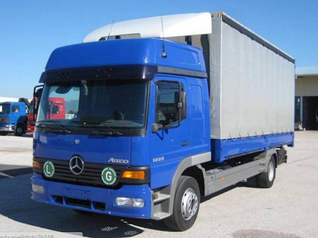 Μελισσοκομικό φορτηγό Mercedes 1228L ATEGO