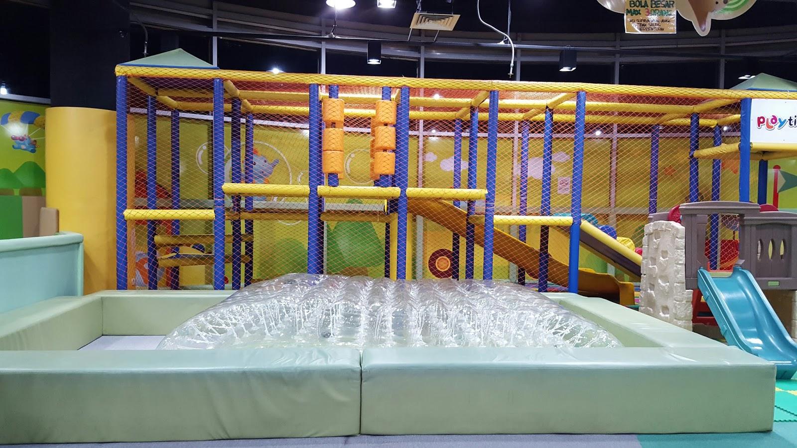 Kids Indoor Playground Playtime Lottemart Bintaro Review