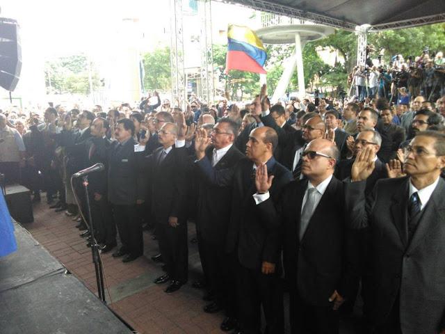 ¡SIGUE LA PERSECUCIÓN! Sebin detuvo a dos magistrados recién juramentados por la AN