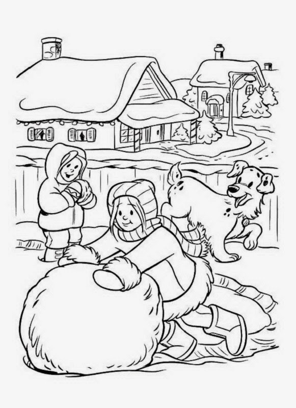swiss village coloring pages - photo#19