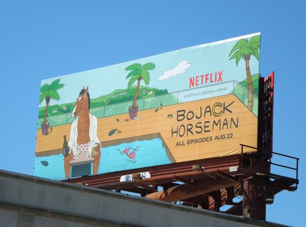 BoJack Horseman season 1 Netflix billboard