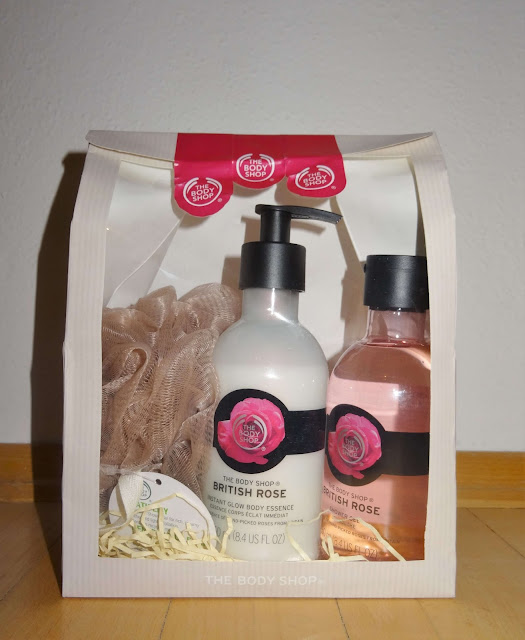 The Body Shop - British Rose Shower gel & Body lotion