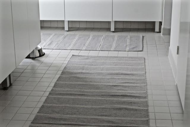 kodinhoitohuone, musta, valkoinen, harmaa, matto, pääsiäinen, minimalisitinen, skandinaavinen, raita, zicos