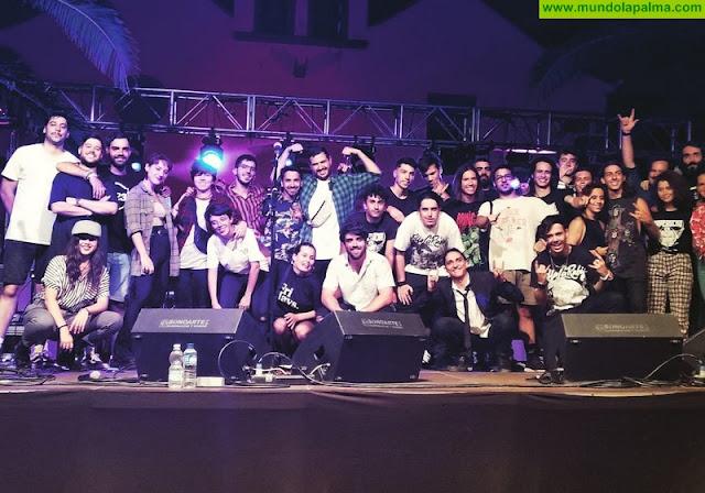 Jóvenes de toda la isla disfrutan del talento musical palmero con 'Saperocko' y 'La Palma Rock'