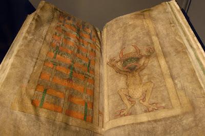El Codex Gigas abierto