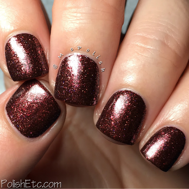KBShimmer - Birthstone Collection - McPolish - Garnet