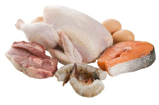 tavuk, balık, hindi