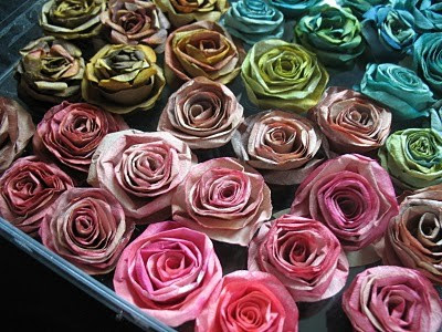 Dyed coffee filter tutorial - Flower Tutorials Directory - Click through to view 30 Fabulous Flower Tutorials!