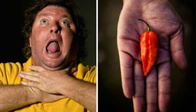 Makan Cabai Terpedas di Dunia, Kerongkongan Pria ini Berlubang