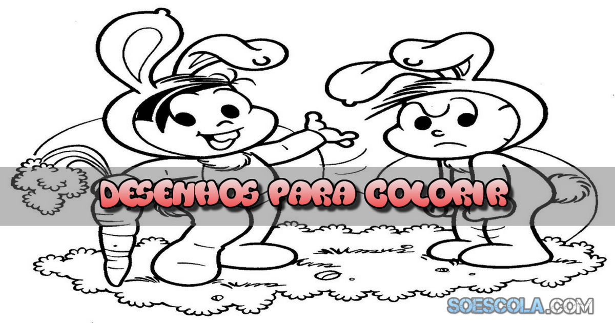Desenhos Para Colorir Pascoa So Escola