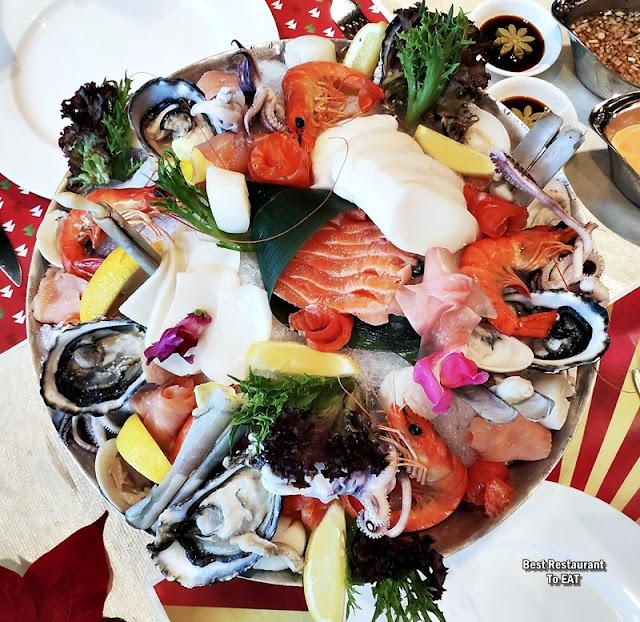 Christmas 2019 Sunway Hotel Resort Spa Menu - Seafood Tower Platter