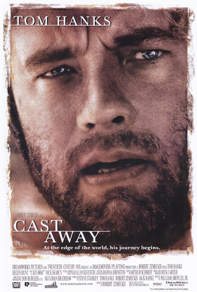 Poster of Cast Away 2000 Dual Audio 720p Hindi BluRay ESubs Downoad