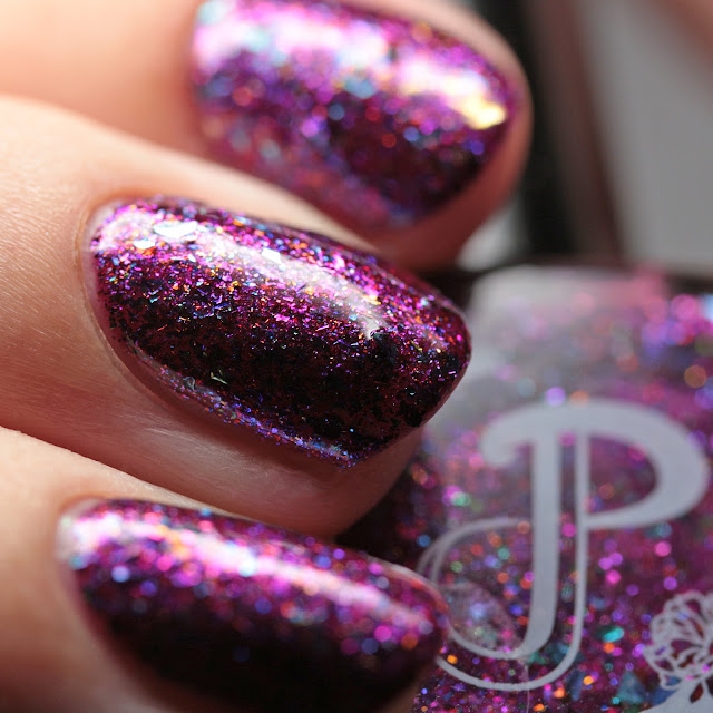 Pretty Jelly Nail Polish Boysenberry Bay