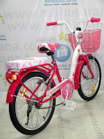 20 Inci Wimcycle Strawberry City Bike