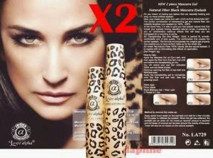 Love Alpha LA729 English Version (Gel & Fiber) Mascara Set