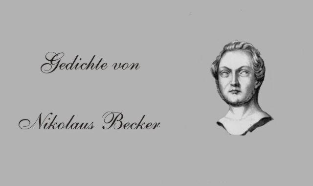 Gedichte Und Zitate Fur Alle Alle Gedichte Von Nikolaus Becker