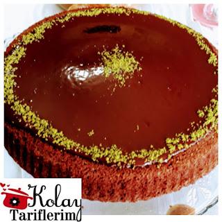 Tart kalıbında çikolatalı soslu kek nasıl yapılır?