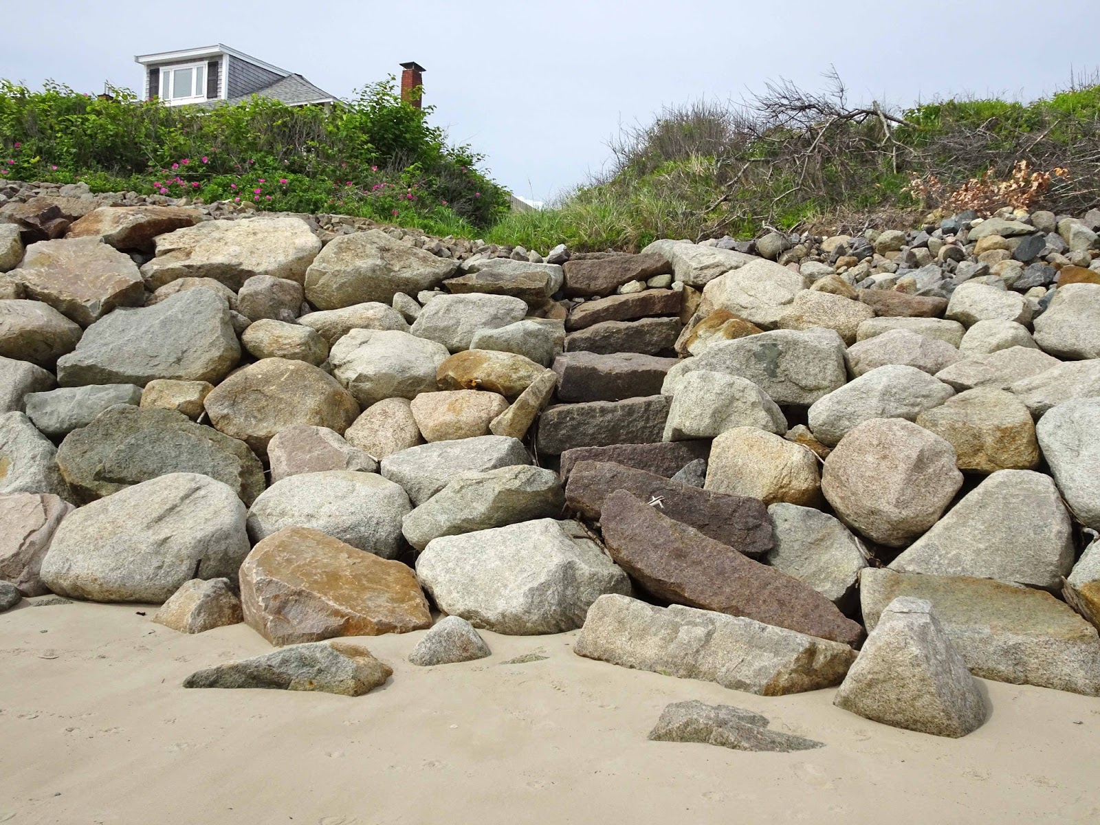 Joe S Retirement Blog Battling Bluff Erosion Manomet