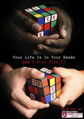 Poster hiv aids yang edukatif - mendidik