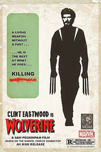 Clint Eastwood is Wolverine