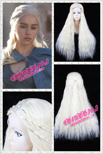 Mother Of Dragons Daenerys Targaryen Cosplay Wig