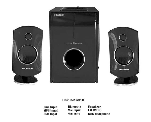 Speaker Aktif Polytron Bluetooth pada PMA dan PAS