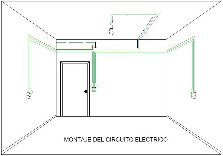 Instalaci n el ctrica de una vivienda octubre 2016 for Puntos de luz vivienda