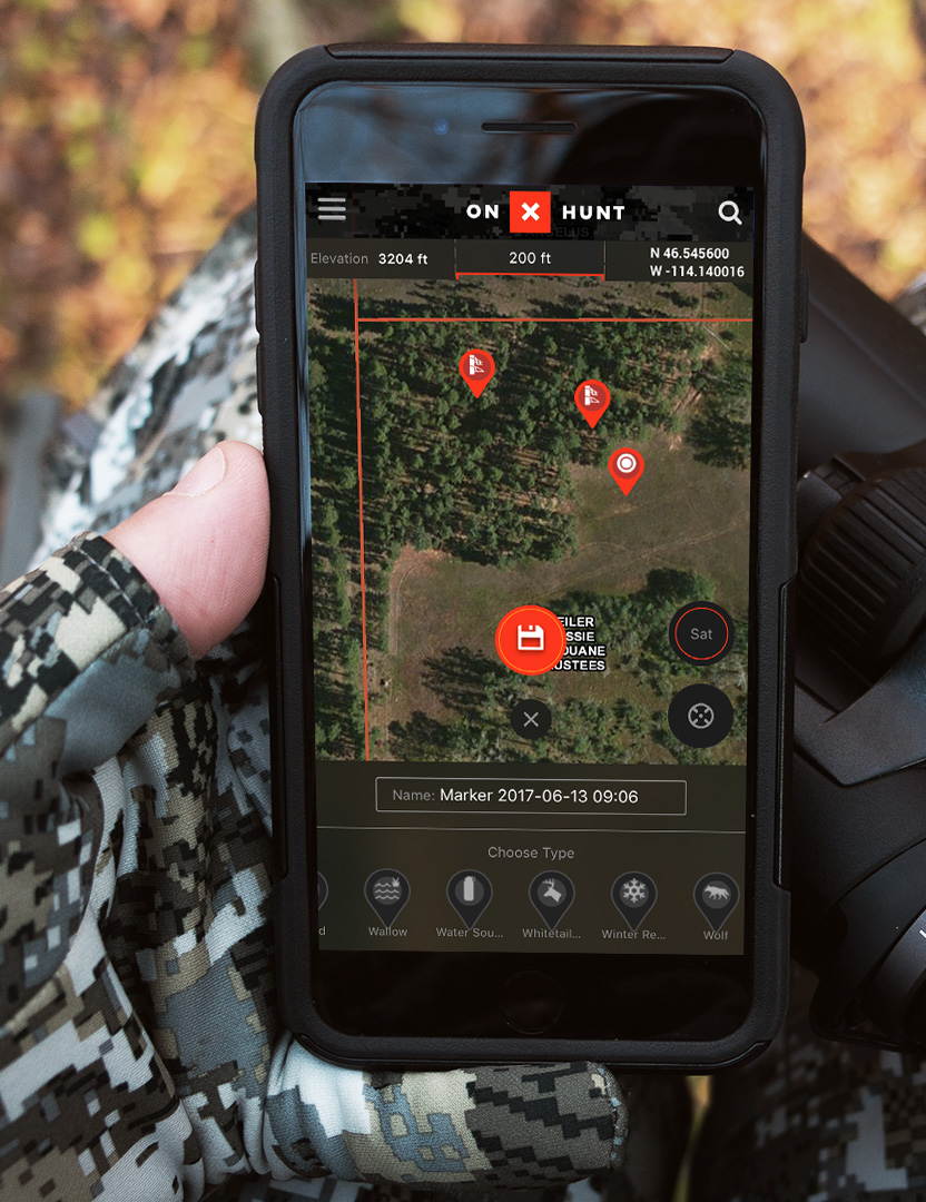 Pete Rogers Outdoors OnX For Out Of State Hunting - Onx map app