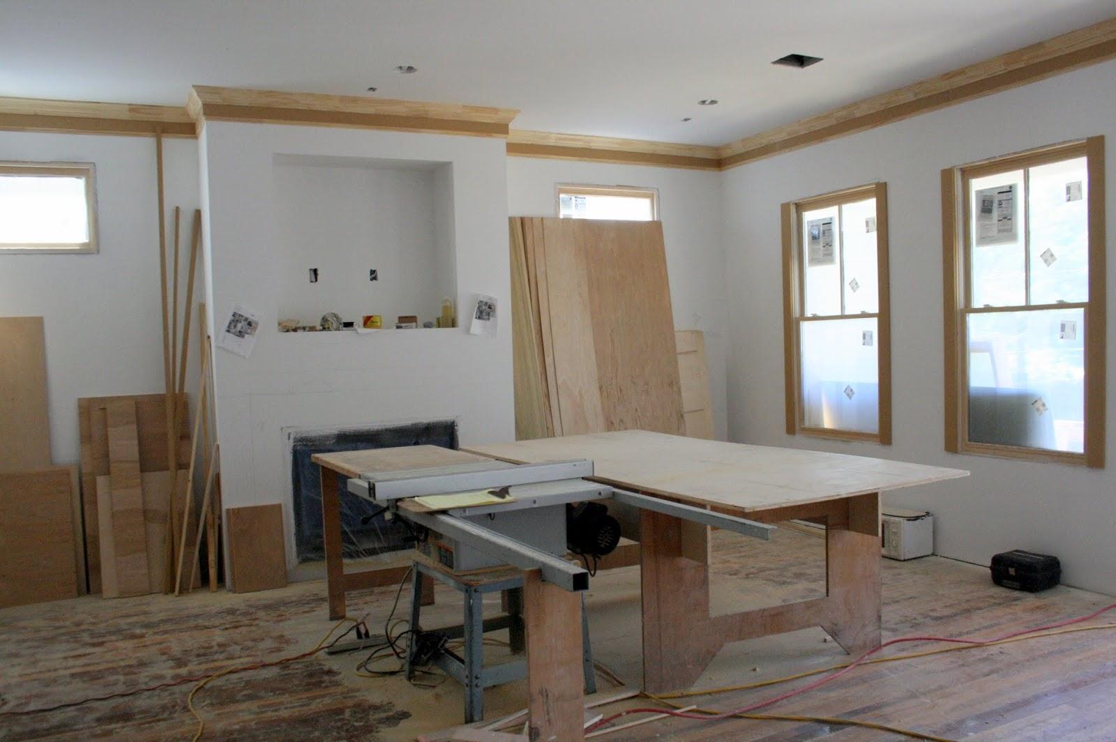 Carpentry - New House Update - Cedar Hill Farmhouse