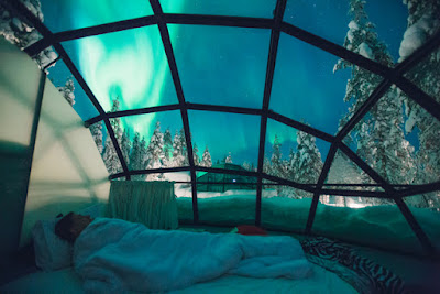 Kakslauttanen Artic Resorts igloo