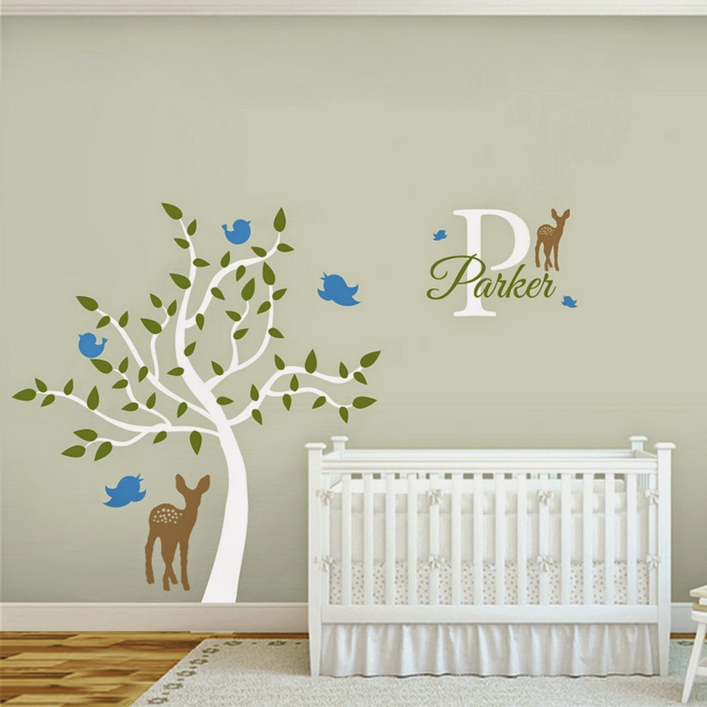 My top 10 gender neutral nursery wall decals sweetums signatures httpsweetumssignaturestree deer birds amipublicfo Choice Image
