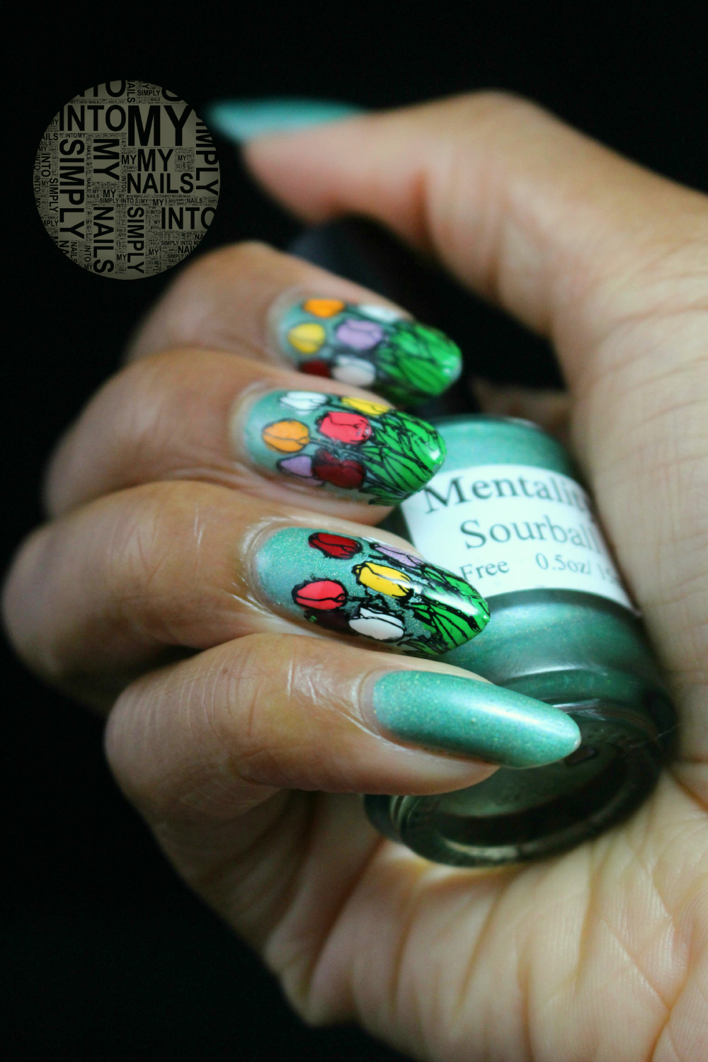 My Nail Polish Obsession My Birthday Nails: It's Blooming Springtime