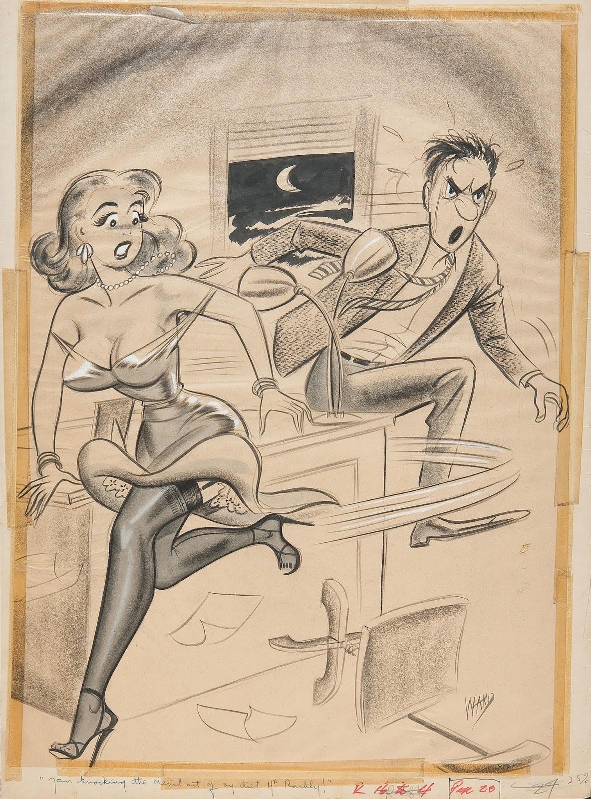 frank frazetta cartoons