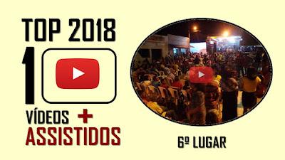 TOP 10 Vídeos mais assistidos em 2018 - 6º lugar