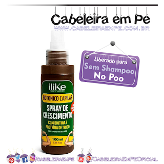 Spray Biotônico Capilar - ILike (No Poo)