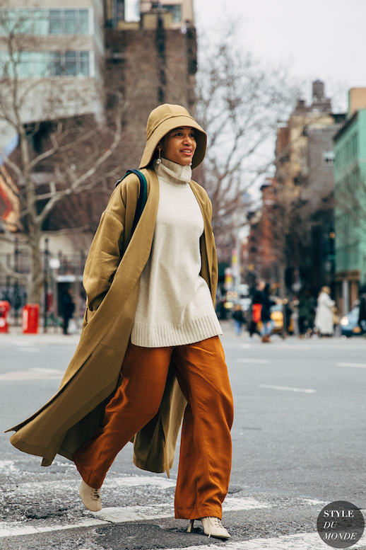The Street Style Way To Wear Oversized Separates