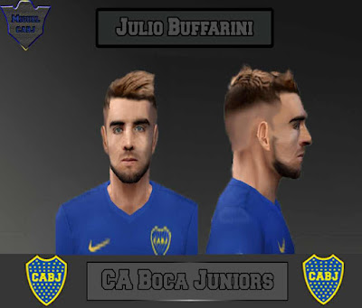 PES 6 Julio Buffarini (Boca Juniors) Rosto 2018
