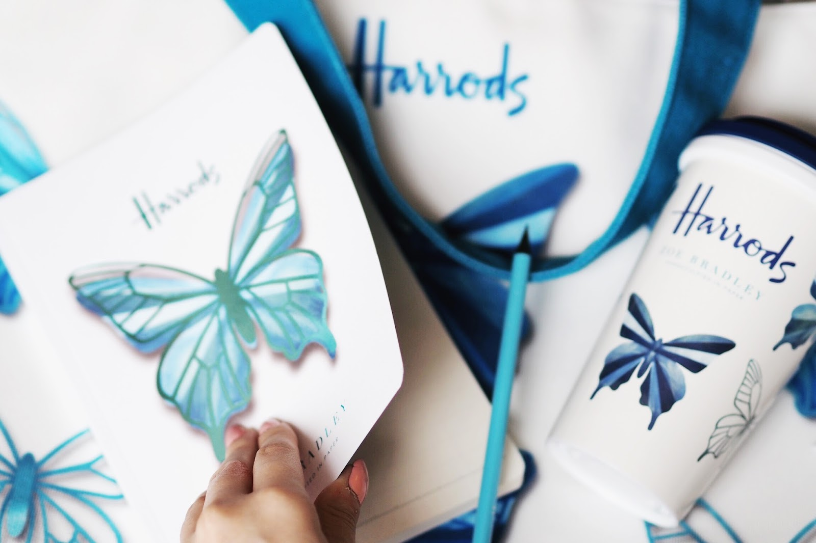 Harrods social butterflies collection zoe bradley review