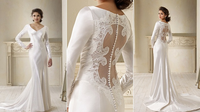 Celebrity Stars: Bella Swan's Wedding Dress
