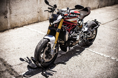 Ducati Monster 1200 S Street Fighter by XTR Pepo