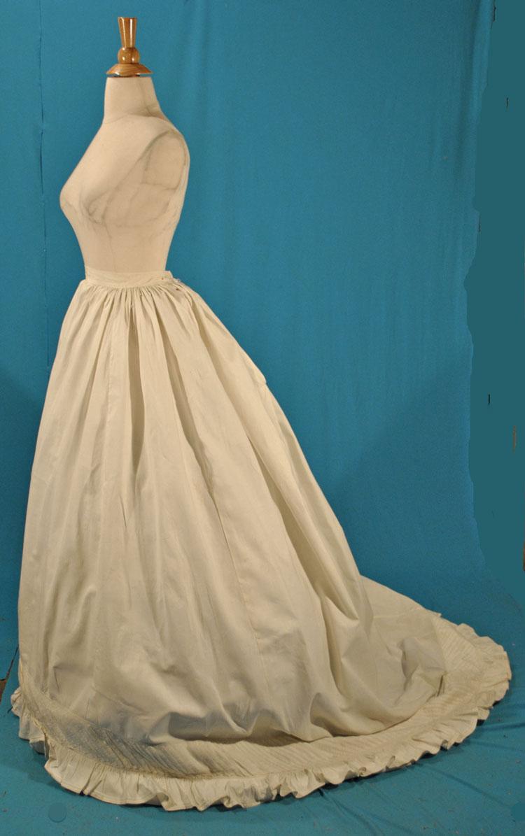 All The Pretty Dresses: Early Bustle Era Petticoat