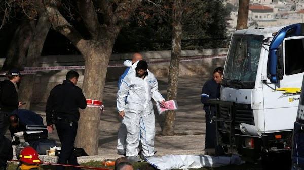 Atentado con camión Israel varios muertos